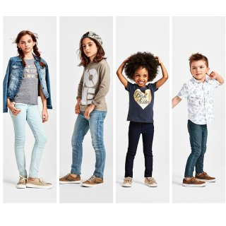$7.99包邮+双倍积分Children's Place 儿童基础牛仔裤,最大18岁