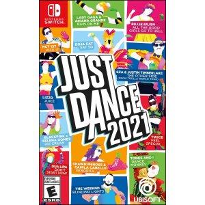 Just Dance 2021 Switch 实体版