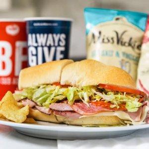 三明治一律7.5折Jersey Mike's 线上或手机App下单