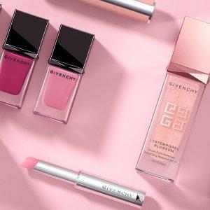 立减$25 低至6.7折Givenchy精选美妆护肤品热卖 收新款限量唇膏