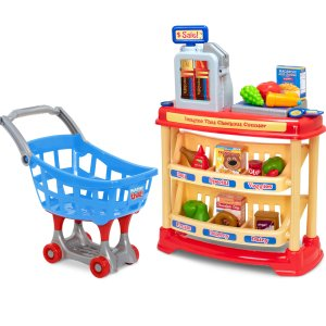 Black Friday Sale Live: Imagine That! 25 pc Checkout Counter with Bonus Shopping Cart
