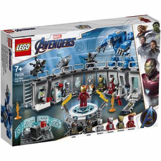 $92(原价$104)补货:Lego 复联4钢铁侠机甲陈列室 76125