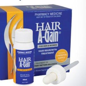 7折起Hair A-Gain 澳洲本土口碑防脱产品 药房医生力荐