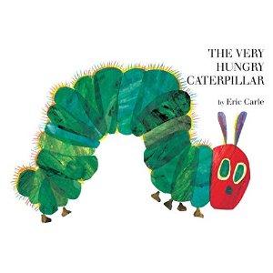 $6.99起Eric Carle 昆虫动物主题儿童绘本,有好饿的毛毛虫