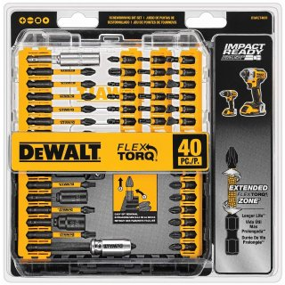 DEWALT Screwdriver Bit Set, Impact Ready, 40-Piece