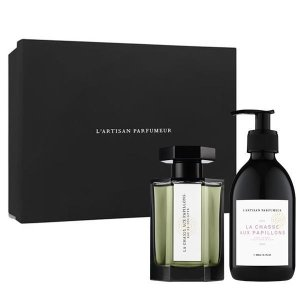 L'Artisan Parfumeur独家8折!价值€163追寻蝴蝶100ml+同香身体乳