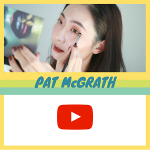YouTube视频!Pat 超值大绿盘试色+眼妆教程