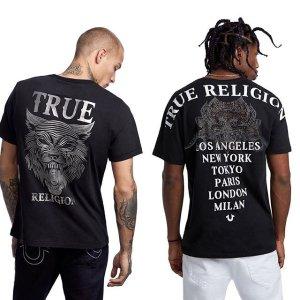 无门槛低至3折True Religion官网 全场男女街头潮流美衣热卖