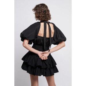 AJEPositive 系带衬衣裙