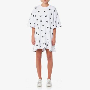 MCQ ALEXANDER MCQUEEN燕子T恤裙