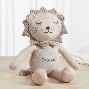 My 1st YearsPersonalized Taupe Lion Stuffed Animal