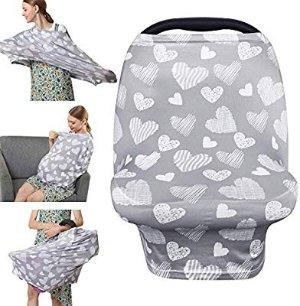$4.99(原价$13.99)YOOFOSS  6合1多功能哺乳巾 妈妈出行好帮手