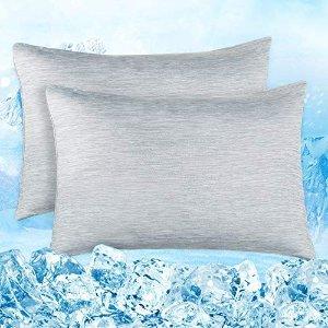 40 x 80 cm 2个 灰色枕套