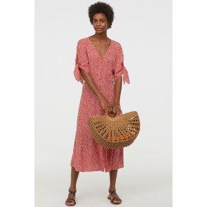 H&MCreped Dress