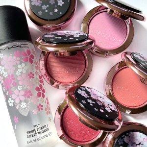 $20起MAC 春季限定深夜樱花系列发售 暗黑少女风来了