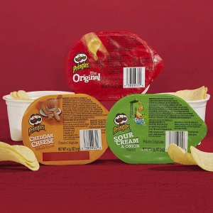 $6.16Pringles Snack Stacks Potato Crisps Chips, 3 Flavors Variety Pack, 18 Cups