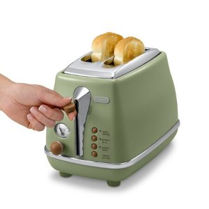 含税到手¥415德龙 Delonghi 多士炉 面包机 2片式 icona 复古早餐系列