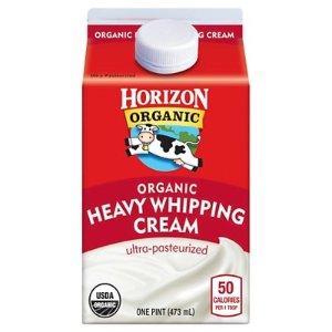 Horizon Organic Heavy Whipping Cream - 1pt : Target