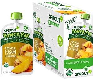 Sprout 有机婴幼儿辅食6包