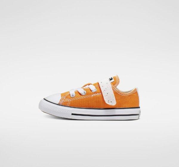 糖果色小童帆布鞋