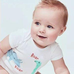 3.5折$5起 大童长裤$7Carter's 儿童T恤、包臀衫、连体衣、套装开门抢购