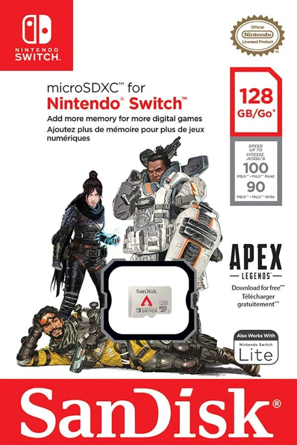 128GB《Apex 英雄》联名版 MicroSD 卡