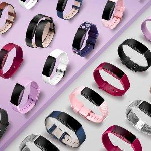 8.5折限今天:Fitbit 智能运动手环 多款多色可选