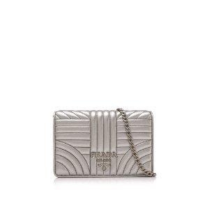 PradaNappa Impunture Wallet Bag