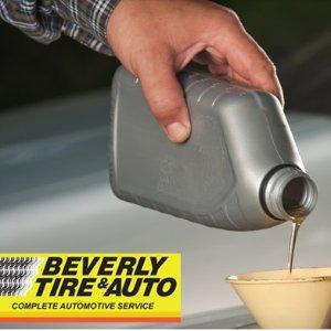 $59.99(原价$139.9)Beverly Tire&Auto 2次换机油+60项换季检查套餐 GTA9店通用