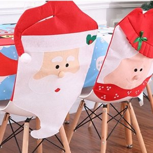团购价2个$15Groupon 圣诞节桌椅装饰罩