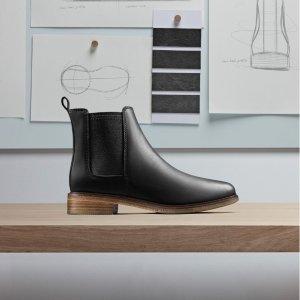 变相5.1折起 切尔西靴£41Clarks 秋冬靴子热卖 经典舒适切尔西靴、过膝靴都有
