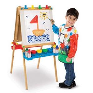史低$59.96(原价$99.99)Melissa&Doug豪华立式艺术画架套装
