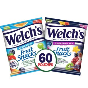 $11.6Welch's Fruit Snacks Bulk Variety Pack (Pack of 60)