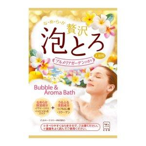 日本COW牛乳石鹸共进社 胶原美肌浓密泡泡入浴剂 #鸡蛋花香 30g