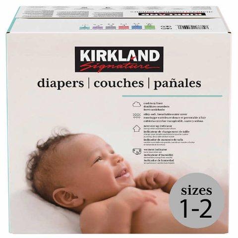 立省$9+包邮 一年仅一次预告:Costco自营 Kirkland Signature 婴儿纸尿裤,1-6号都有