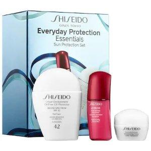 Shiseido 必备产品套装
