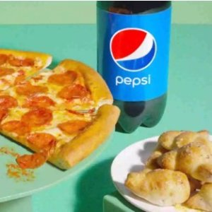 $12.99Papa John's Large 1-Topping, a Bread Side and 2-Liter