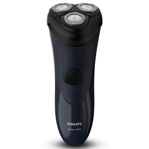 $52.25 一键开盖清理Philips S1100 干式电动剃须刀