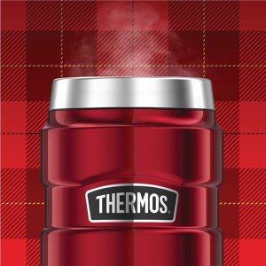 $19.99(原价$24.99)Thermos 膳魔师 广口焖烧罐 473mL 自带折叠勺 2色可选