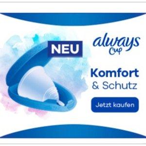 售价€34.99No 1卫生巾品牌 Always 出月经杯了 双杯配置 分别适用于中等流量和高流量 使用视频来了