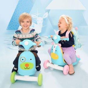 $45 (原价$60) 包邮Skip Hop  三合一骑乘小车 适应不同年龄需要,伴随宝宝成长