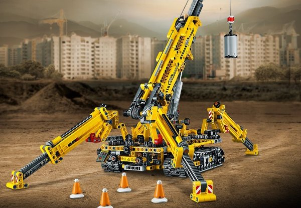 蜘蛛起重机- 42097   机械组系列