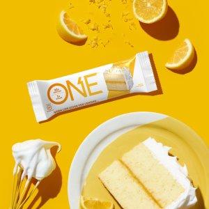 现价$16.24 (原价$24.99)ONE 高蛋白低糖能量棒 柠檬蛋糕味 12支