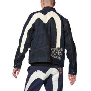 Evisu3件享额外8折+9.5折大M福神 牛仔外套