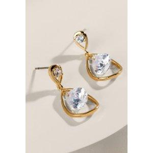Madeline CZ Teardrop Earrings