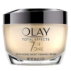 $16.75Night Cream by Olay Total Effects Anti-Aging Night Firming Cream & Face Moisturizer, 1.7 Fluid Ounce @ Amazon