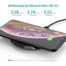 组合购买可享85折RAVPower 升级版无线充电器 Qi认证充电板 适用于Iphone