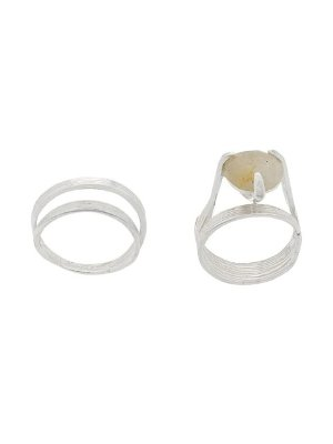 Wouters & HendrixMy Favourites rutilated quartz stone ring 戒指