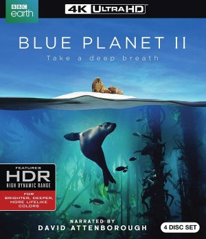 $29.96 (原价$59.99)Blue Planet II 4K HDR 蓝光版