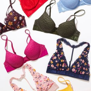 All for $14.9PINK Wear Everywhere Bras on Sale